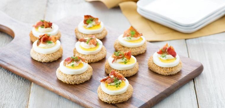 recettes de restauration rapide-œufs-tapas-idées