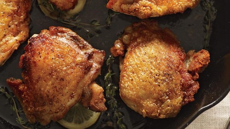 recettes faciles et économiques - poulet rôti