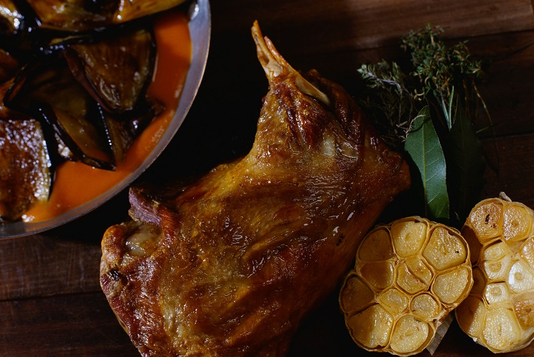 recettes maroqíes idées-faciles-viande-agneau-rôti