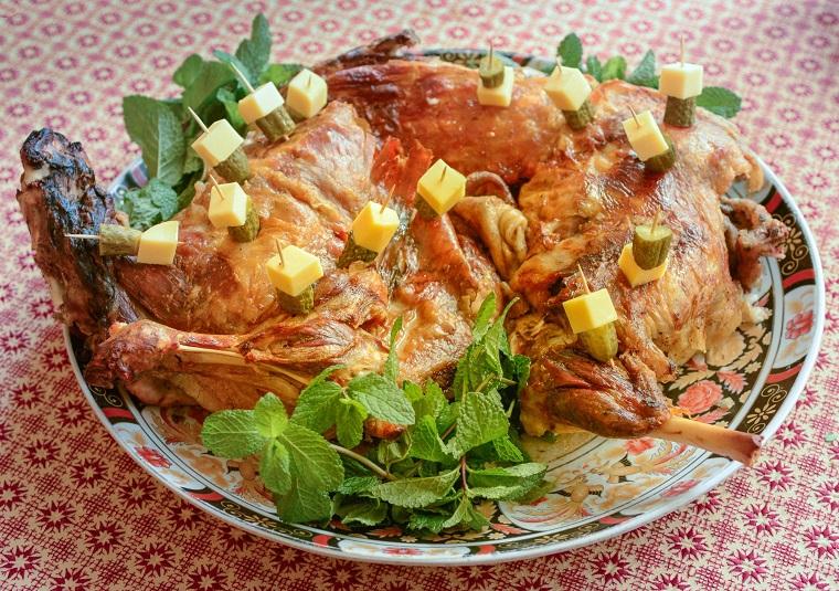 Recettes marocaines faciles-viande-agneau-rôti