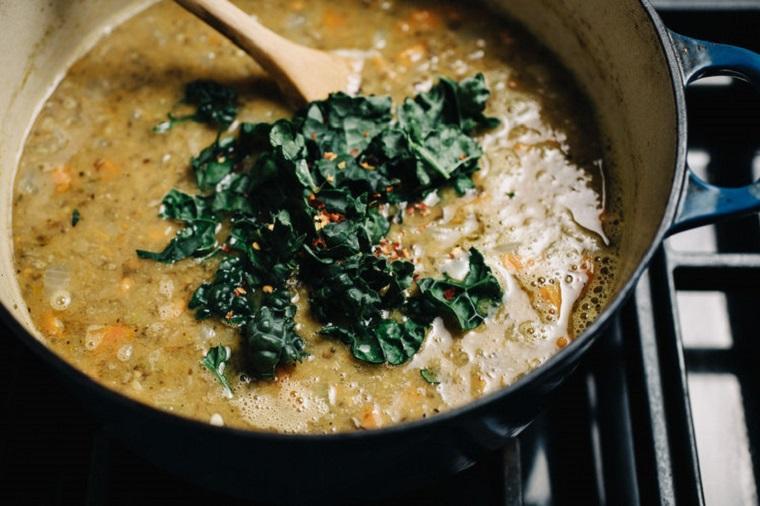 recettes-végétarienne-soupe-facile-lentilles