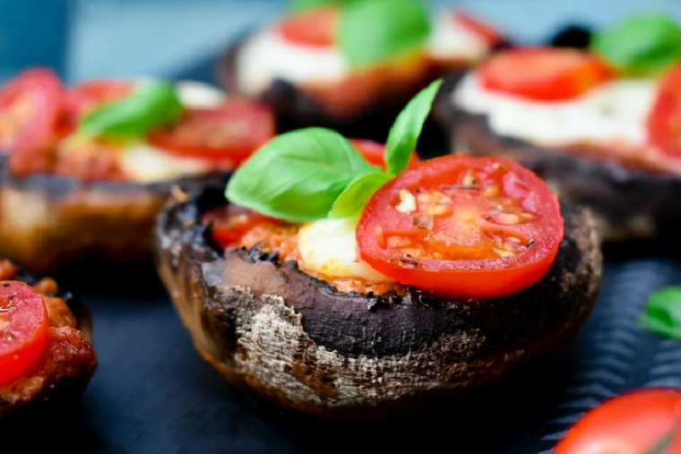 recettes-végétarienne-facile-champignons-grill