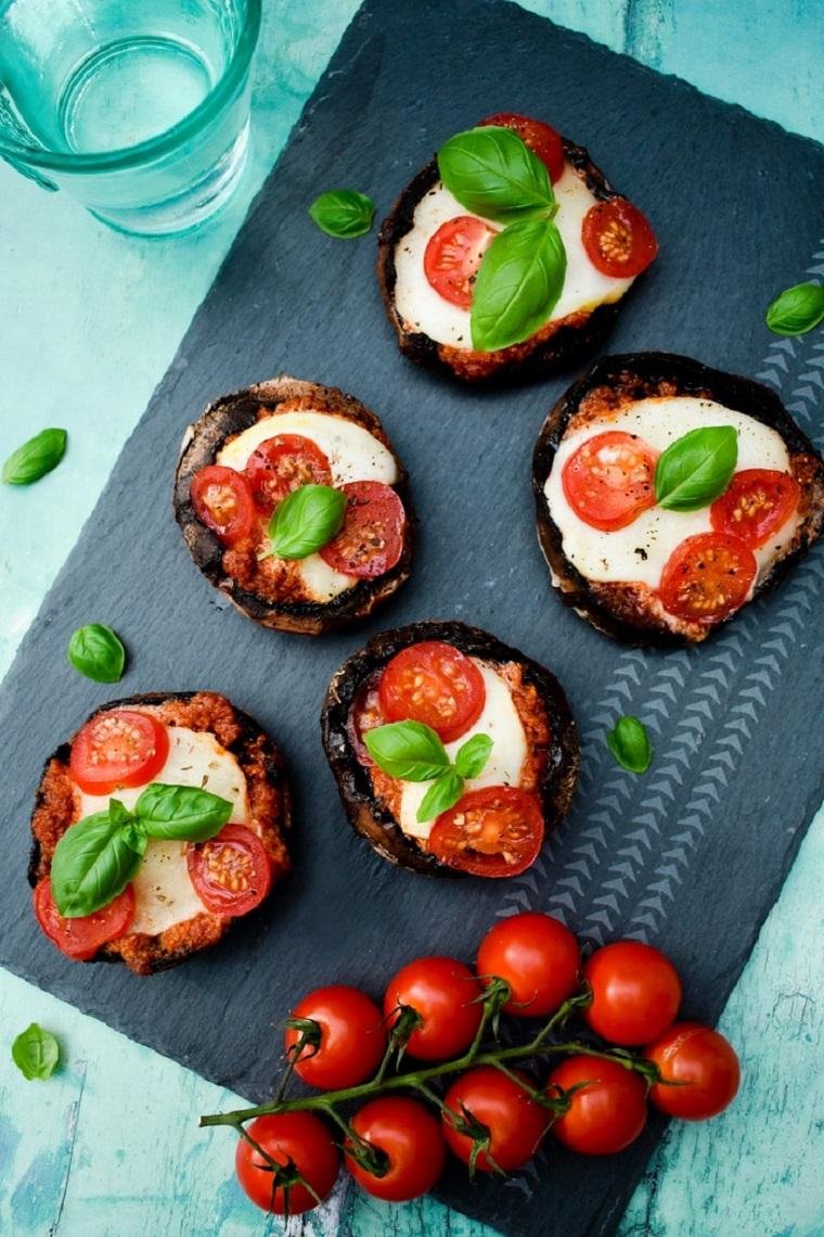 recettes-végétariennes-faciles-champignons-grill-idées