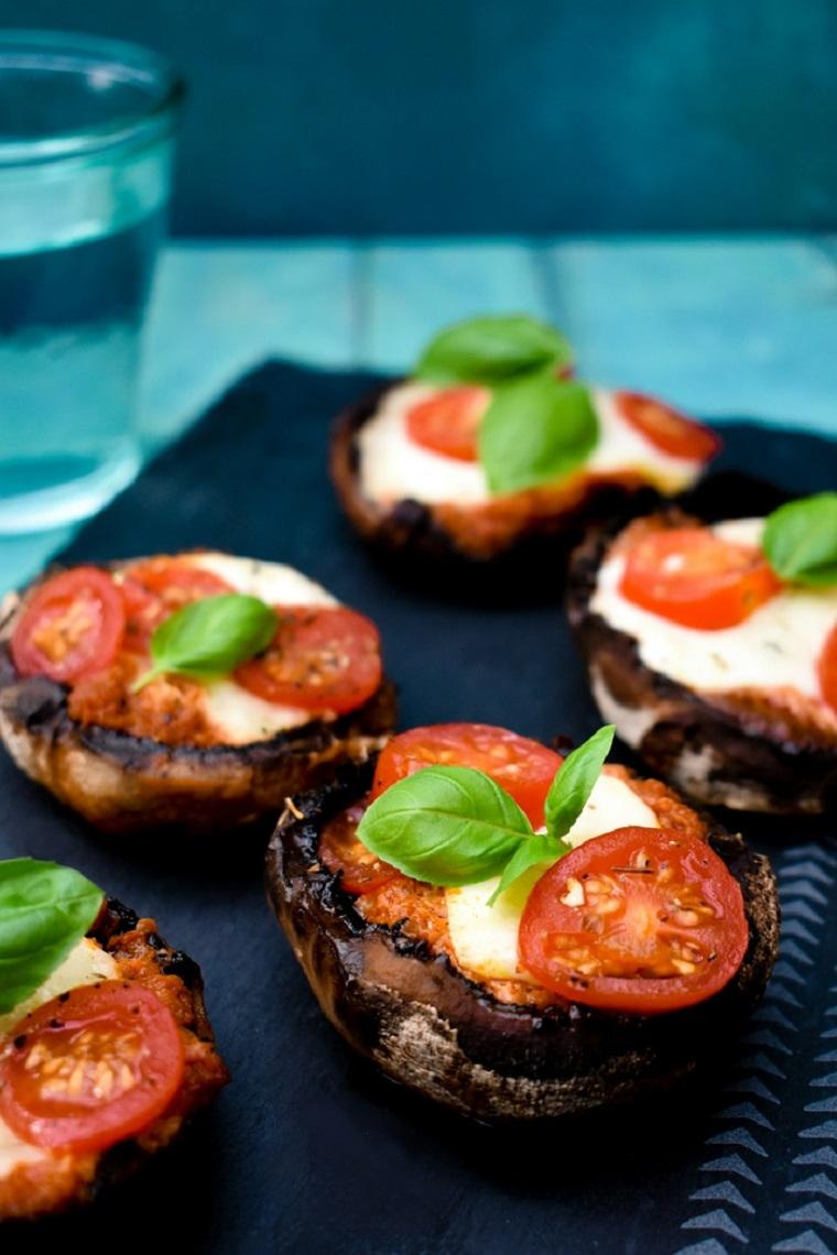 recettes-végétariennes-faciles-champignons-grill-options