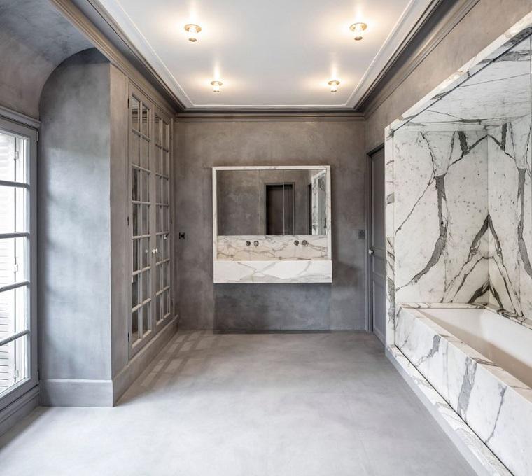 rénovation des murs en marbre