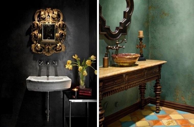 idées-plâtre-salle de bain-style-moderne-design