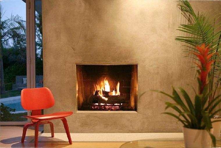 mur-plâtre-cheminée-options