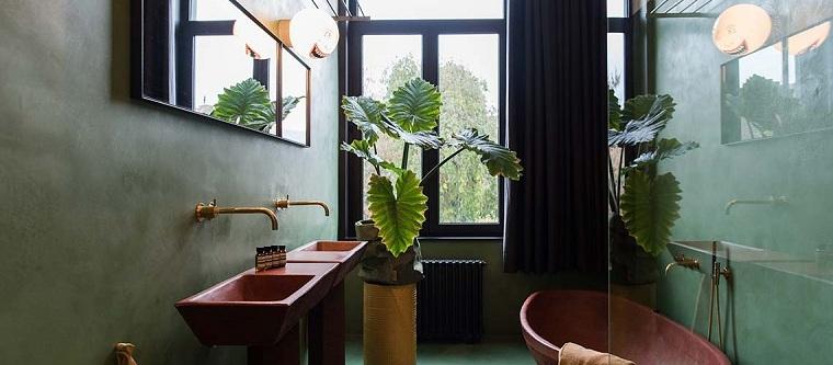 revetement-de-mur-options-salle-de-bain-couleur-vert
