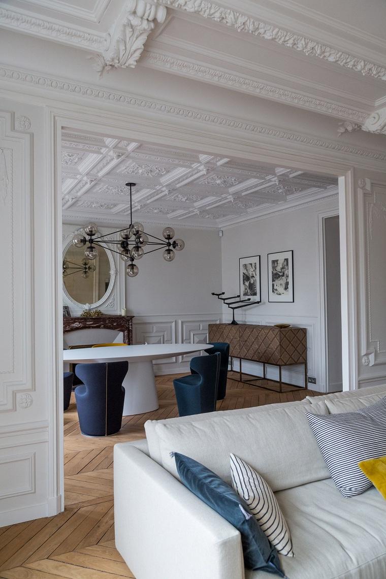 salon-diner-design-contemporain-plâtre