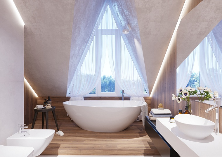 salle de bain-options-baignoire-style moderne