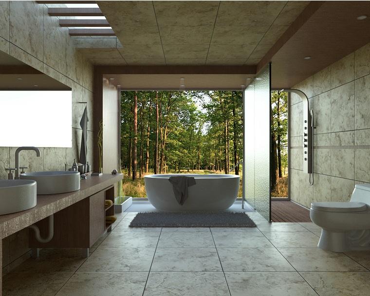salle de bain-spacieuse-moderne-claire-fenêtre