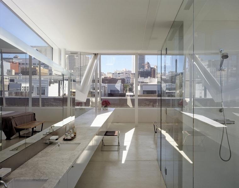 salles de bains modernes-design-Fougeron-Architecture