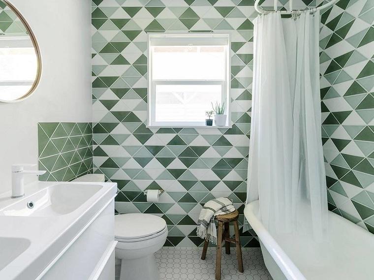 chambres-de-salle-de-bain-moderne-idees-dalles-vert