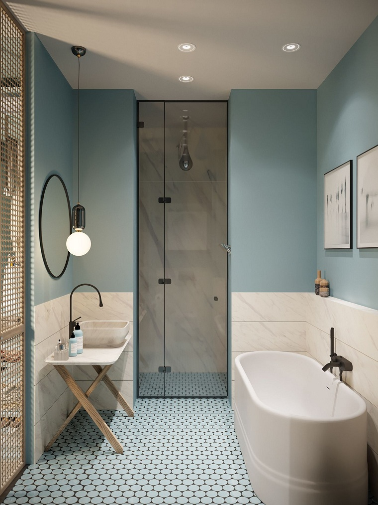 salles de bains modernes-Olesya-Fedorenko