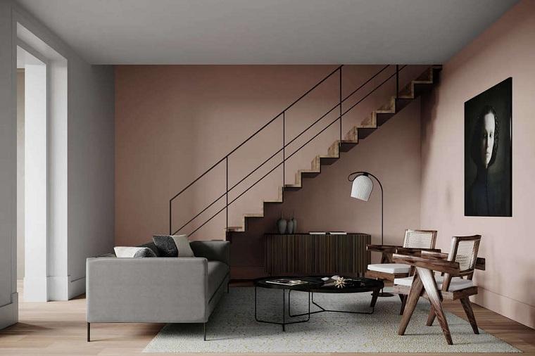 salon moderne maison amarante