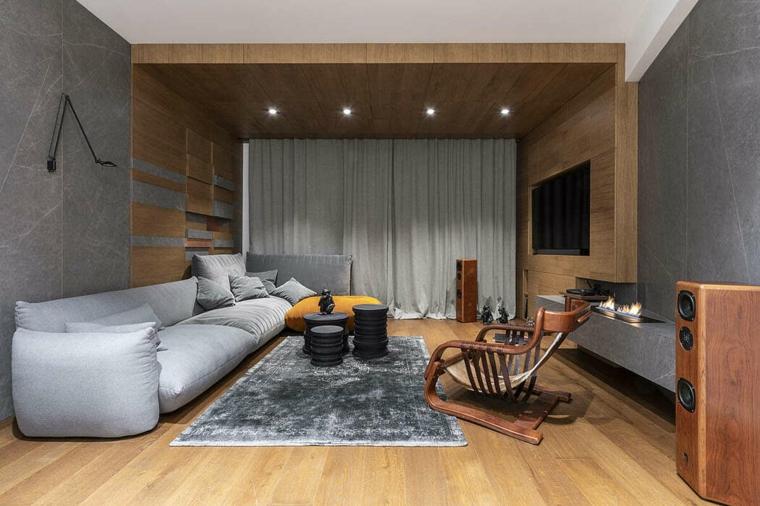 salons modernes 2019 design zen