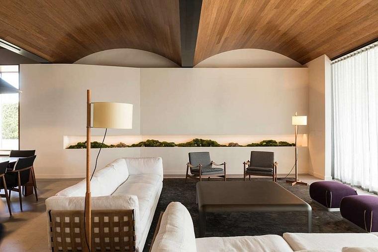 salon moderne architecture doo