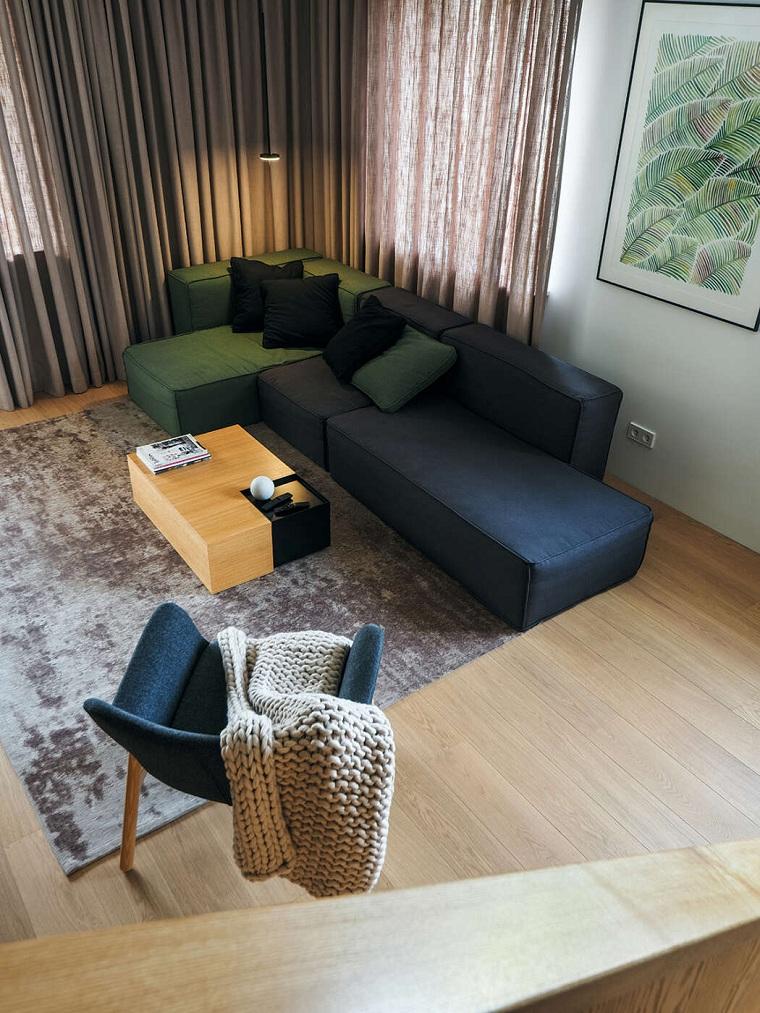 studio de design ligne salon moderne