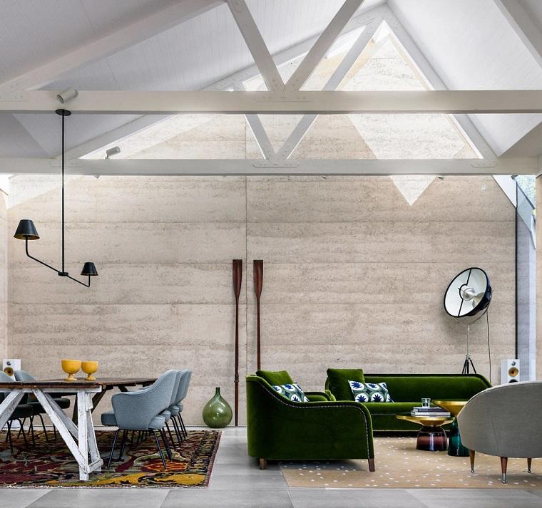 conception de salon luigi rosselli architectes