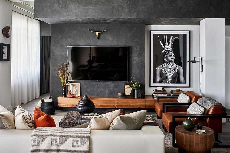 salon conçu par michael habachy