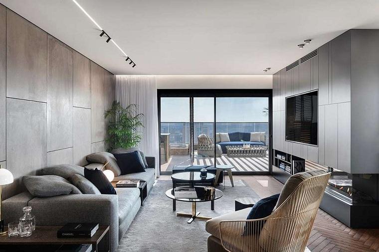 salon avec design moran gozali