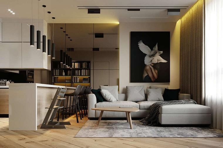 salon conçu par prosvirin design