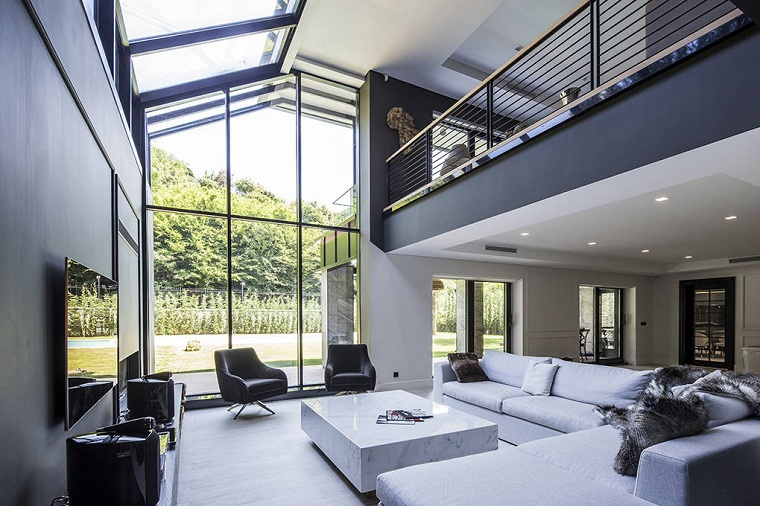 salon conçu par studio mimarlk