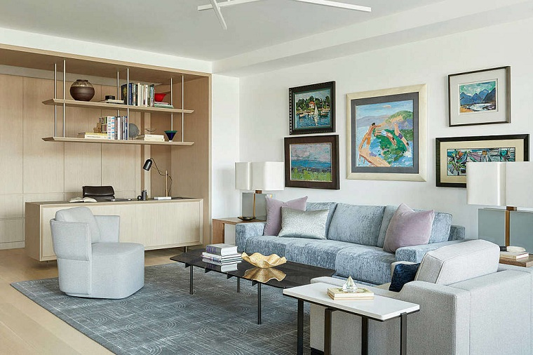 salon conçu par studio ppark