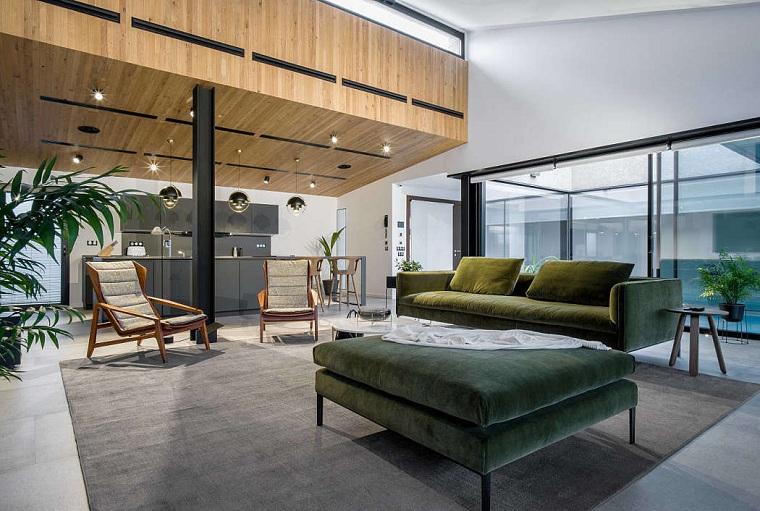salon moderne conçu par tendenza interiors architecture-studio