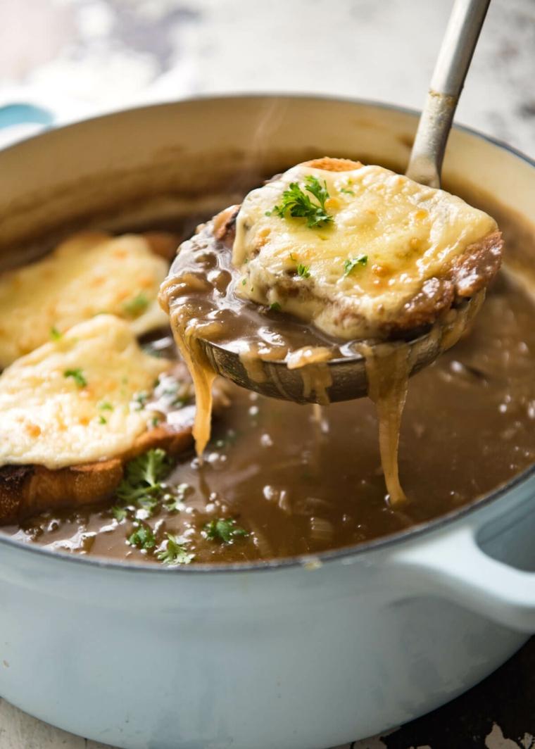 recette de soupe à loignon