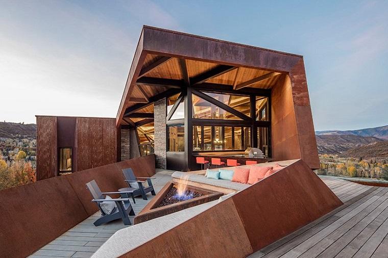 structures métalliques plancher bois