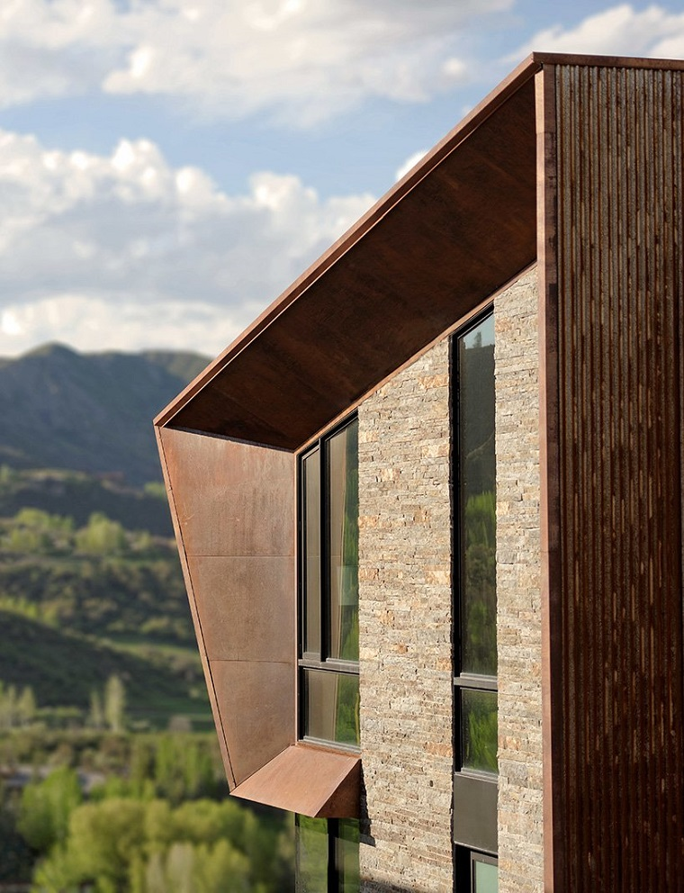 idées de structures métalliques modernes
