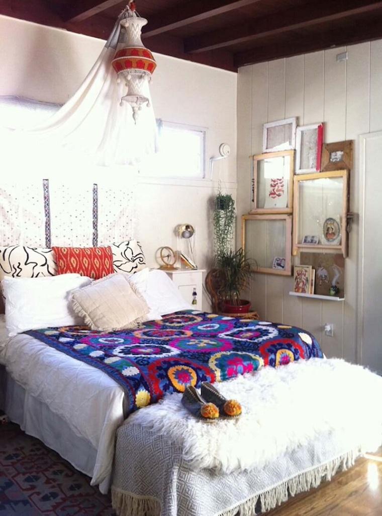 chambre-details-lit-boho