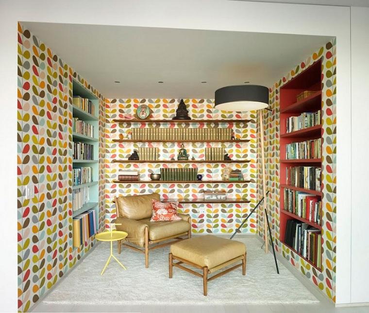 salle-papier-mur-style-boho