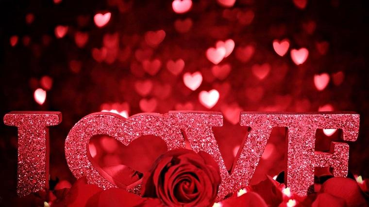 surprend les cœurs valentins
