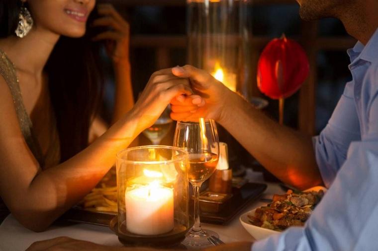 dîner-romantica-enamorados-idées