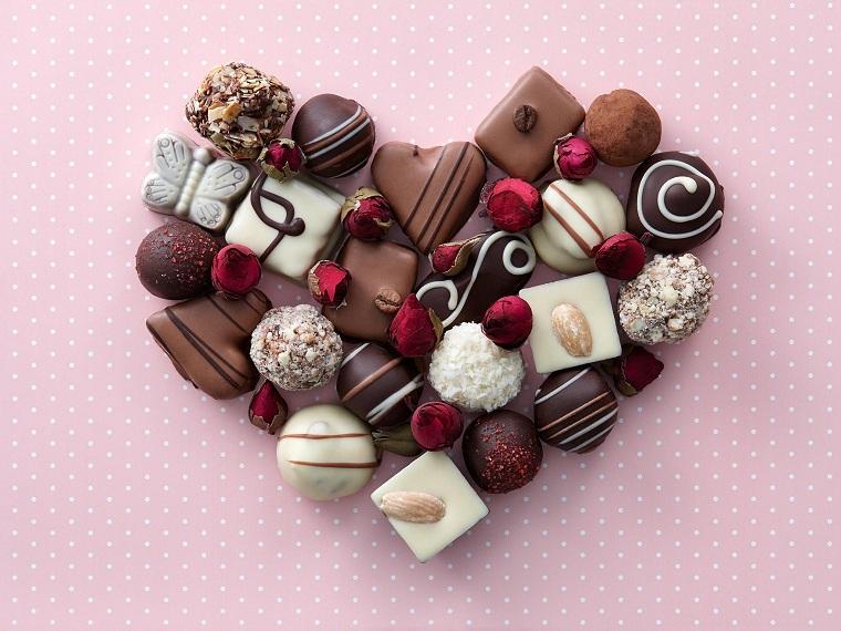 chocolat saint valentin