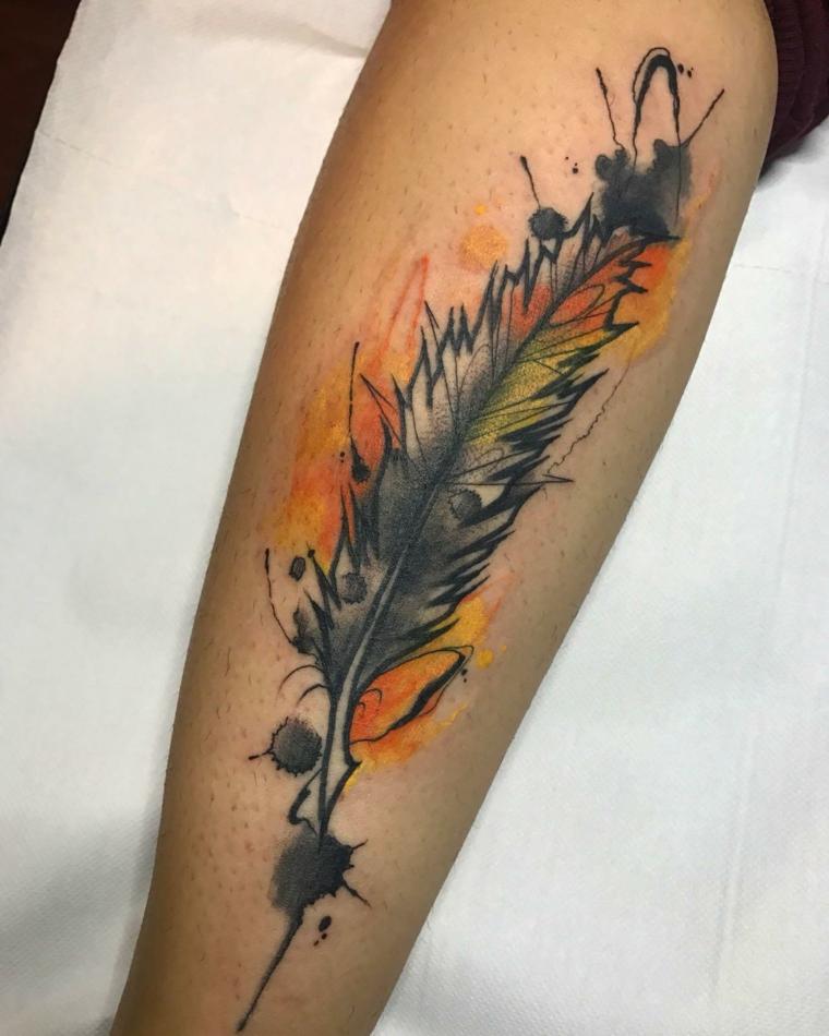 stylo-tatouage-details-couleur-jaune