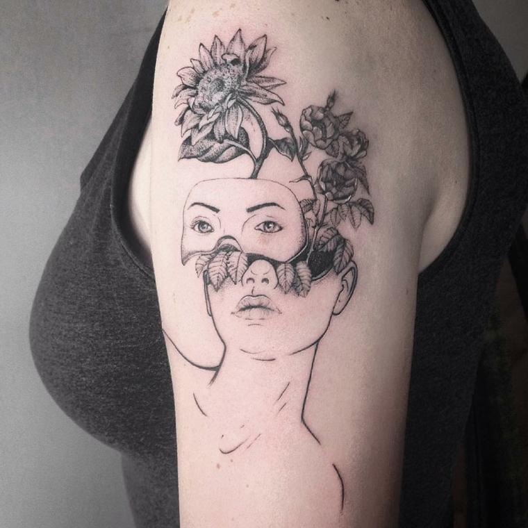 femme-tête-fleurs-original-options