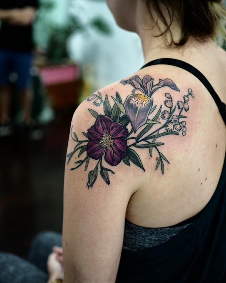 fleurs-belle-conception-tatouages-options