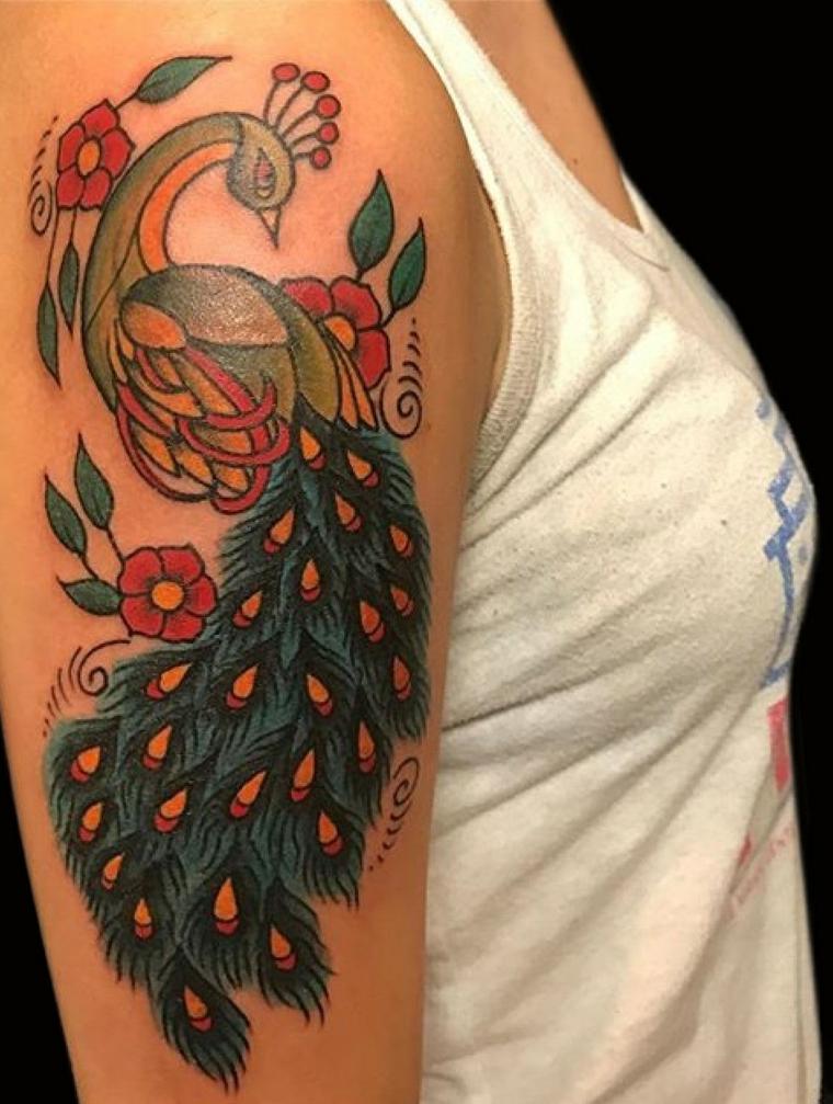 oiseau-belle-épaule-idées-tatouage-moderne