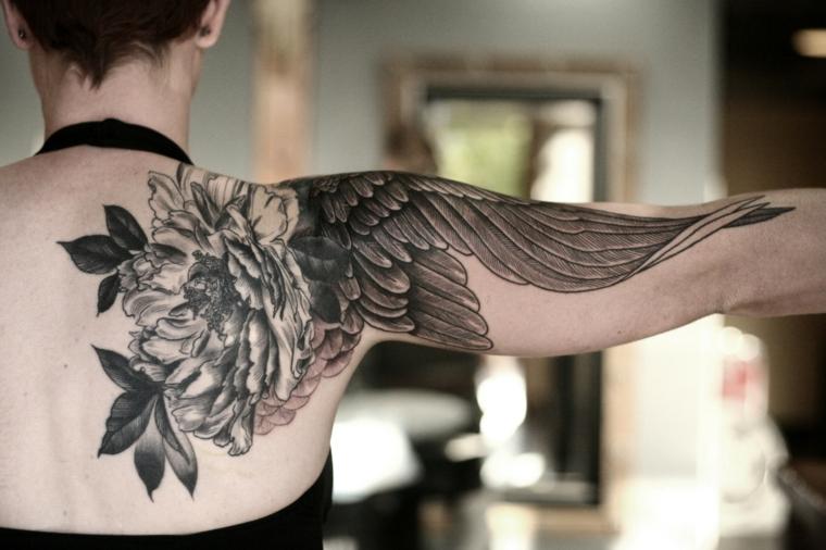 épaule-oiseau-aile-tatouage