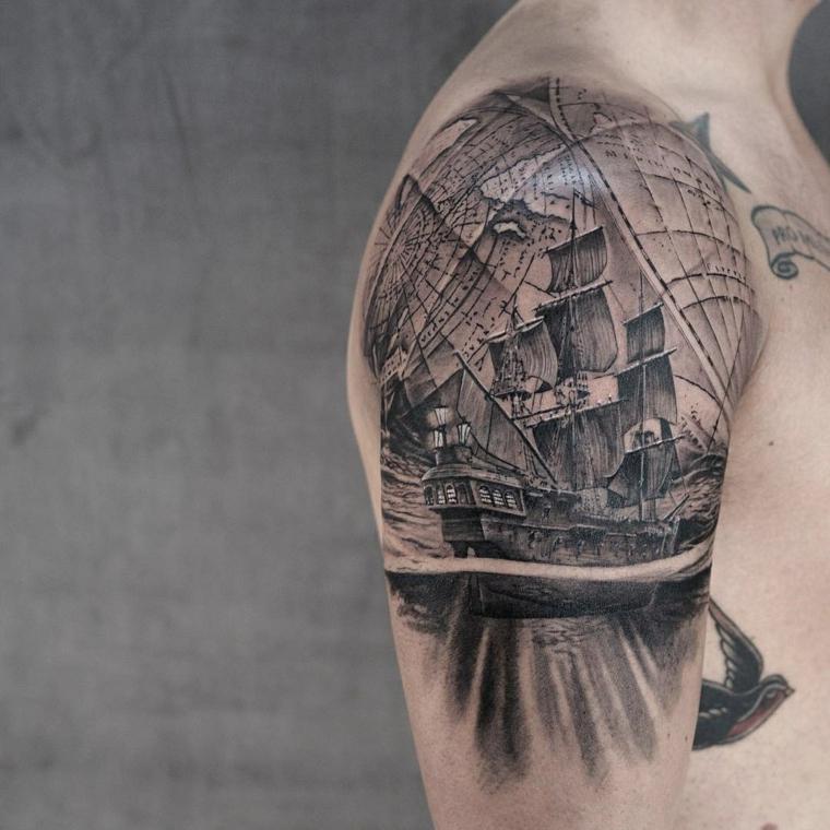 tatouage-épaule-style-idées