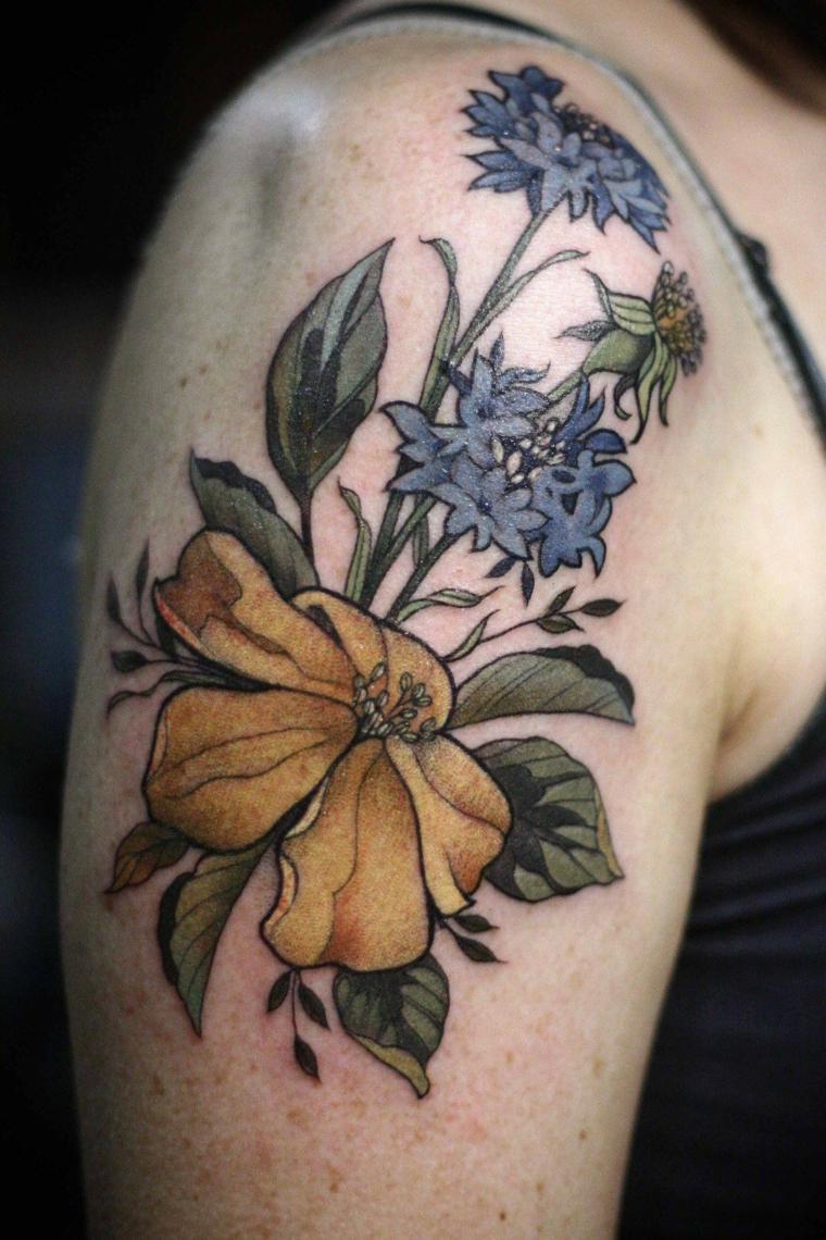 tatouages-fleurs-épaule-options