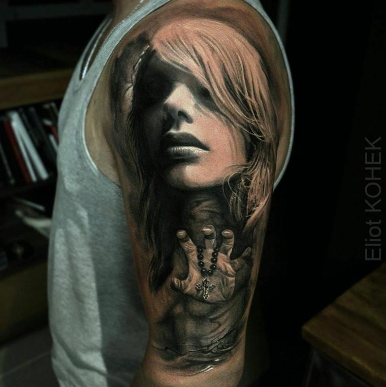 tatouages-épaule-réalistes-options