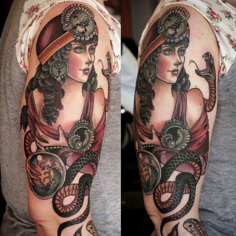 tatouages-femme-visage-belles-options