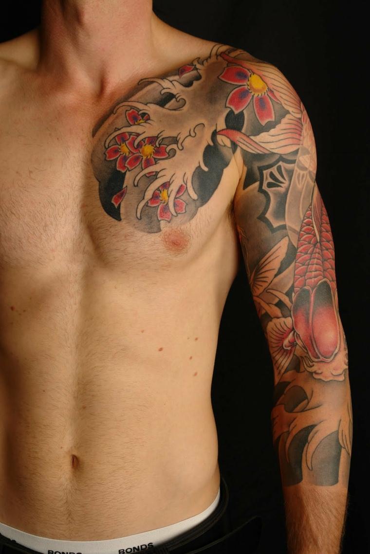 tatouages-pour-lepaule-idees-combinaison-couleurs