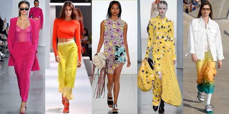 tendances de la mode-couleurs-printemps-été