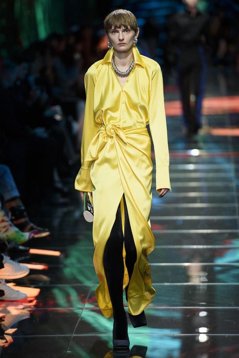 balenciaga-tendances-mode-podium-style-couleur-jaune