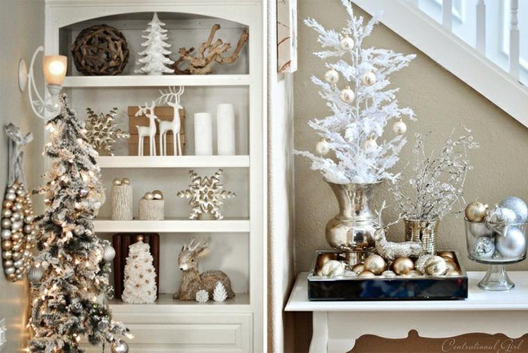 Thèmes de Noël avec des étincelles métalliques